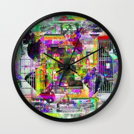 For when the segmentation resounds, abundantly. [extra, 01] Wall Clock