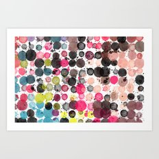 Paint Ball Party! Art Print