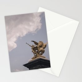 Trumpet My Return (c) Stationery Cards