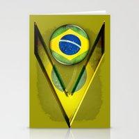 brasil Stationery Cards featuring Brasil by ilustrarte