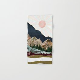 Retro Autumn Vista Hand & Bath Towel