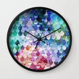 really mermaid funky wall clock