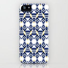 Mod Blue Spruce iPhone Case