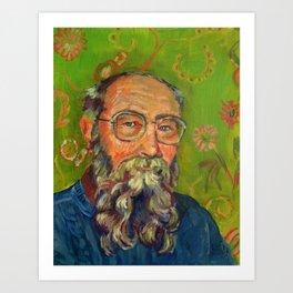 David K Lewis Art Print