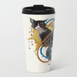 Sun and Moon Metal Travel Mug