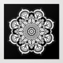 My Top Flower Canvas Print