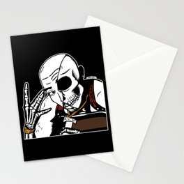 All Eyez On Me Iconic Hip Hop 2 Pac by zombiecraig Stationery Cards