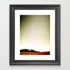 In the Air Framed Art Print