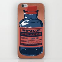 spice iPhone & iPod Skins featuring Spice Trade by Brady Terry