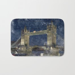 London Bridge Bath Mat