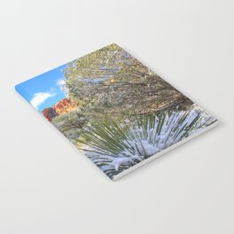 Sedona Winter  by Reay of Light Notebook
