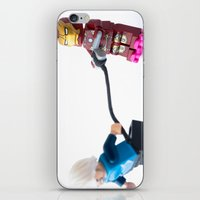 transistor iPhone & iPod Skins featuring Transistor powered roller wheels, Mark 2 by Tom Milton