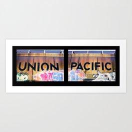 Union Pacific Art Print