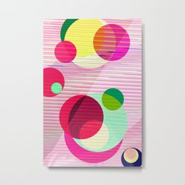 Pattern 2016 019 Metal Print