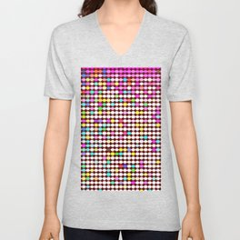 Chromeosteropsis color play Unisex V-Neck