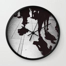 Pedestrian Wall Clock