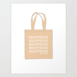 Off the Cuff SHOPFRONT Tote Bag Art Print