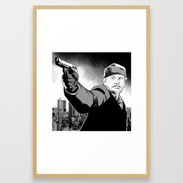 Death Wish Framed Art Print