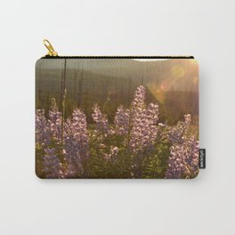 sunset lupin Carry-All Pouch
