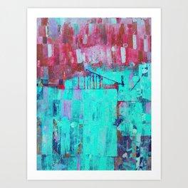 Los Colores de la Noche Art Print