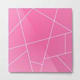 Geometric squarre  Metal Print
