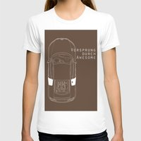 audi T-shirts featuring Vorsprung Durch Awesome by Salmanorguk