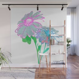 Floral abstract 96 Wall Mural