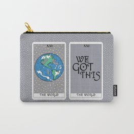 Tarot Cards: The World Carry-All Pouch