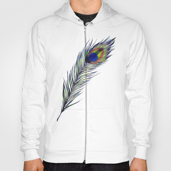 The Peacock's Feather Hoody