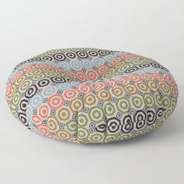 Crazy Octagons in Fantastic Output Floor Pillow