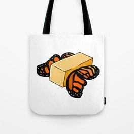 Butter Flys Tote Bag