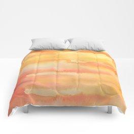 Apricot Sunset Comforters