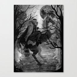 Headless Horseman Canvas Print