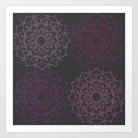 Mandala enhance Art Print
