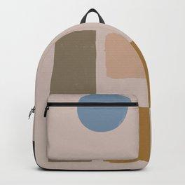 Balanced Shape Abstract Art Backpack