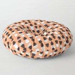 Fringe & Spades Floor Pillow