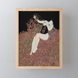 Weight of Ribbons Framed Mini Art Print