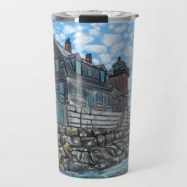 Breakwater Lighthouse Travel Mug