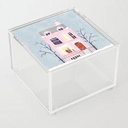 Xmas house Acrylic Box