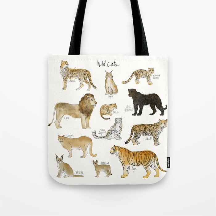 Wild Cats Tote Bag