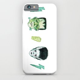 Frank and Bride iPhone Case