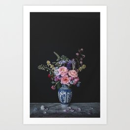 Sweet blooms Art Print