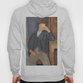 The Young Apprentice by Amedeo Modigliani Hoody