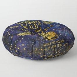 Dream Up Something Wild and Improbable (Strange The Dreamer) Floor Pillow