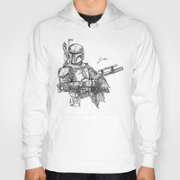 boba Hoodies featuring Boba Fett by Leamartes