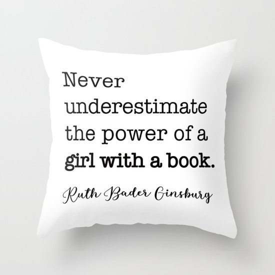 Never underestimate the power of a girl with a book. by socoart