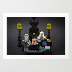 The Band is Back Together Again! Art Print