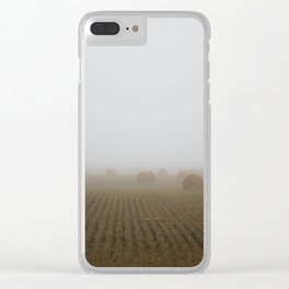 Misty Harvest Clear iPhone Case