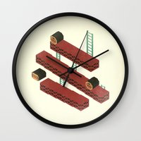 nintendo Wall Clocks featuring Nintendo #3 by Dabwood2