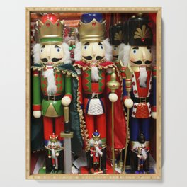 Nutcracker Soldiers Serving Tray